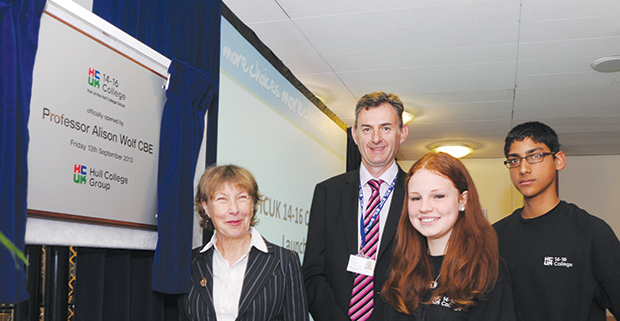 Hull 14 to 16-year-olds leading the way to college