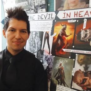 Arturo Ruiz has won a job at the Harrods Salon