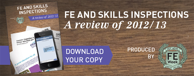 FE and Skills Inspections : 2012/13 review