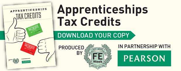 Apprenticeship tax credits