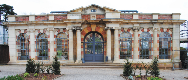 Crumbling orangery gets huge facelift from stone students