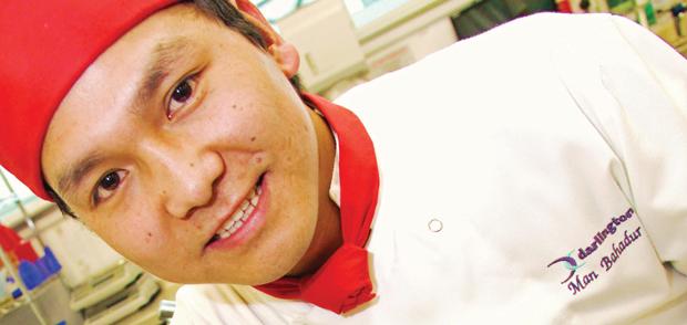 Man, son of Gurkha, gets best young chef award