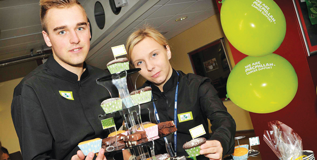 Coffee morning for cancer research