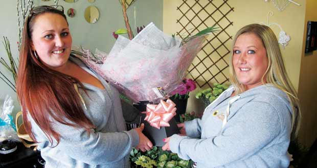Blossoming florist takes on apprentice