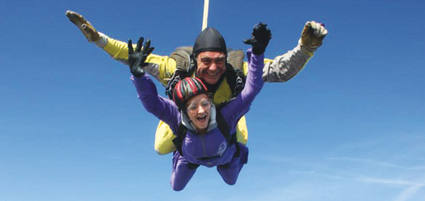Jodie takes a dive for critically-ill tots