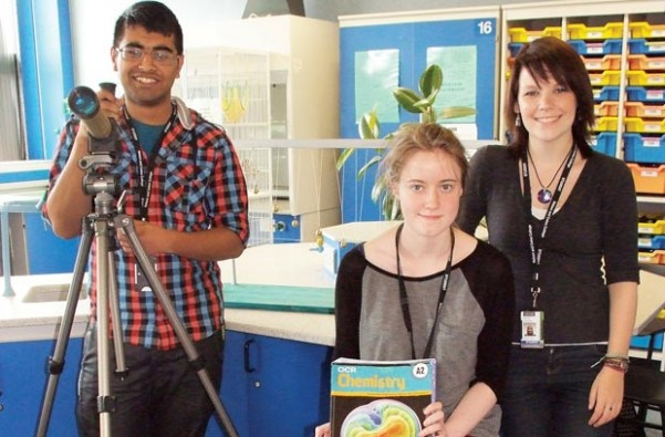 Hands-on science and maths work experience