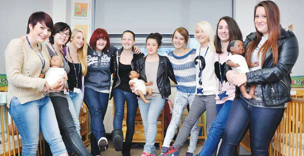 Donning denim raises hundreds for charity