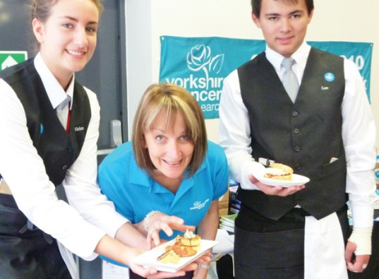 Time for tea party at Yorkshire college
