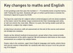 Ofqual announces detail of new maths and English GCSEs