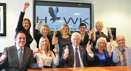 Hawk swoops for a grade one