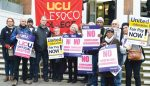College staff strike over pay after last-minute talks fail to avert industrial action