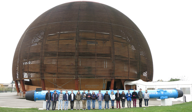 Radiating enthusiasm after nuclear centre trip
