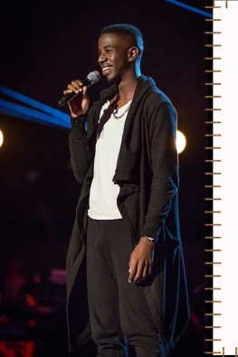 Jermain delighted to be on will.i.am's team for The Voice