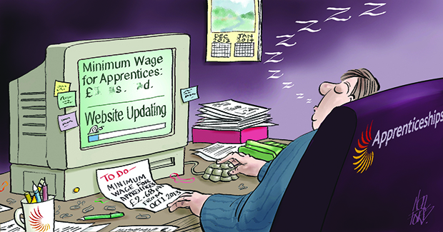 Action on minimum wage 'ridiculously late'