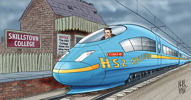 Questions over need for new HS2 rail college