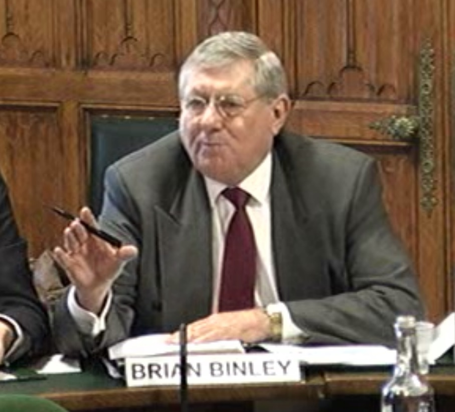 Brian Binley MP