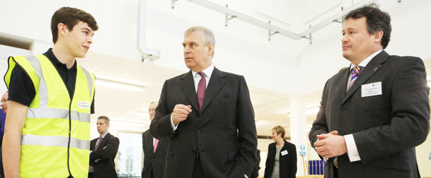 Royal seal of approval from Duke of York