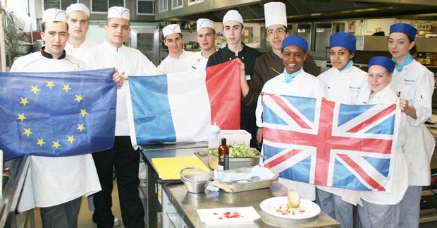 Sacre bleu...French students learn to make Scotch eggs