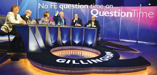 No FE question time on Question Time