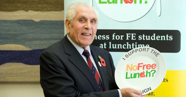 Sector pays warm tribute to FE champion Lord Bilston