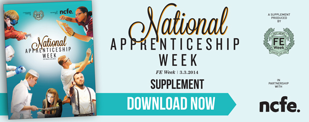 Download the latest National Apprenticeship Week supplement