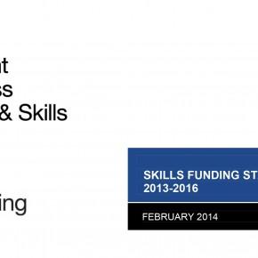 Skills-Funding-Statement-2013-2016-cover