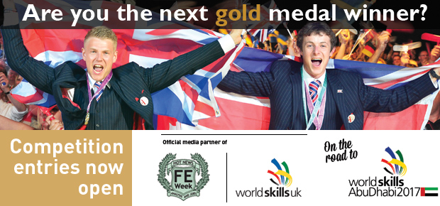 Competition entries now open for Worldskills UK