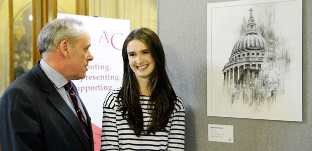 Students' artwork displayed in House of Commons
