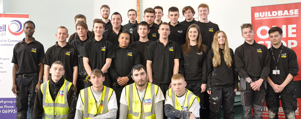 Apprentices use their decorating and maintenance skills to revamp rundown church