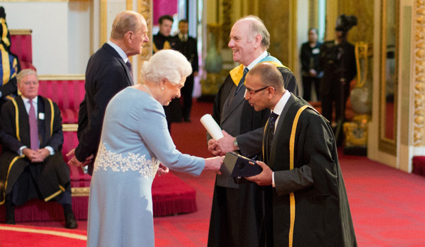 'Thankyou ma'am' — college leaders awarded by the Queen