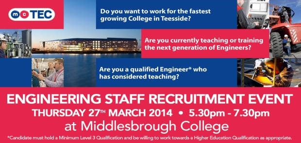 Engineering Staff Recruitment Event