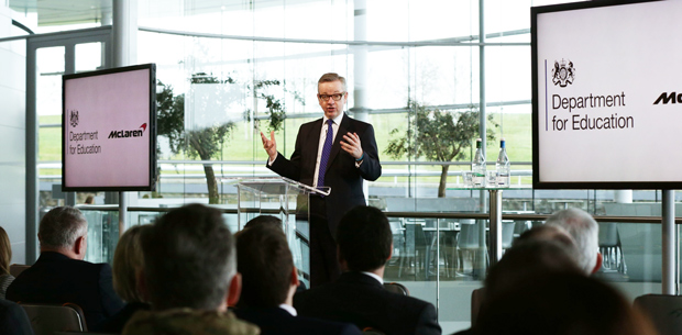 Providers will 'no longer be able to force employers to take training they want to offer', says Gove