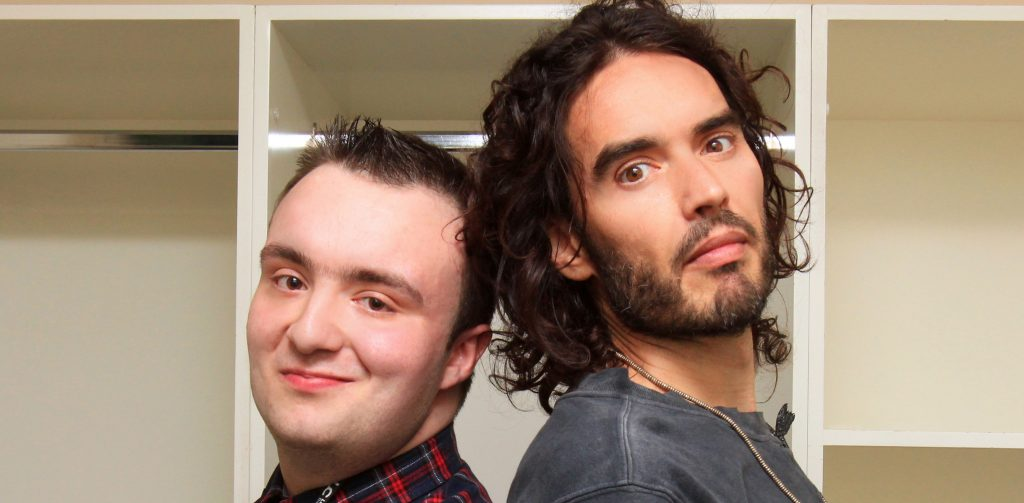 College radio presenter is seeing stars after landing interview with top comedian Russell Brand