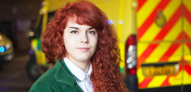 Trainee paramedic Lucy stars in BBC documentary