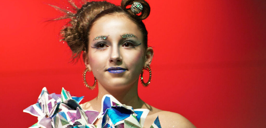 Hair, beauty and fashion show is tailor-made by more than 120 students