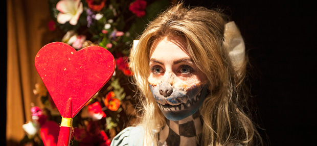Students in Wonderland through movie make-up challenge