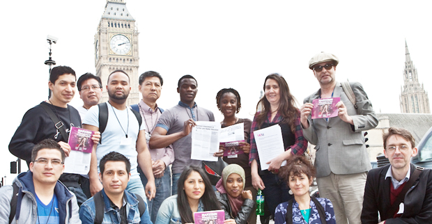College staff and students lobby Parliament over FE funding cuts