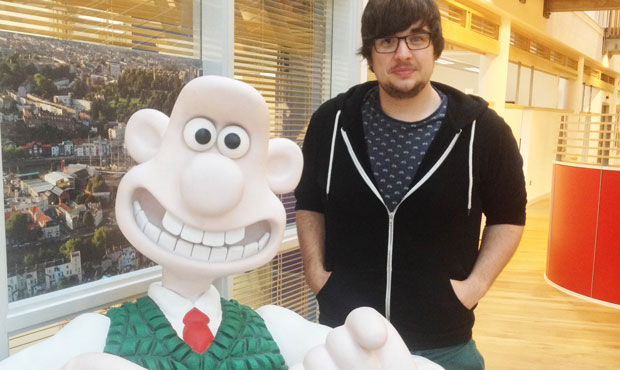 Keith's feeling animated thanks to makers of Wallace and Gromit