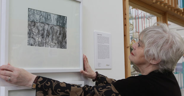 First exhibition for 69-year-old fine art student who bakes works in oven