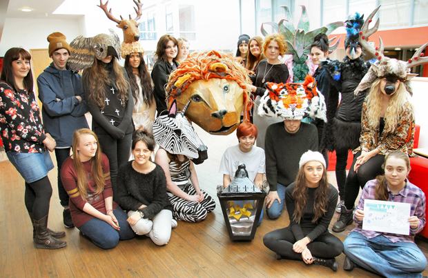 Carnival time with wild animal and Narnia-inspired costumes