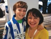 Jill with son Joe
