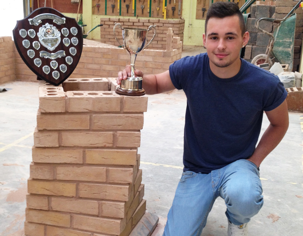 Budding brickie is regional winner
