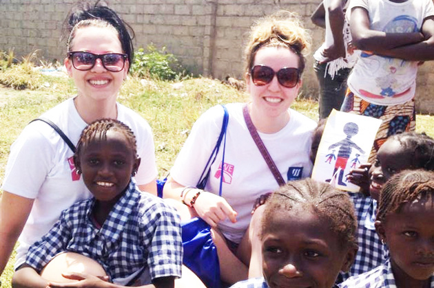 Students spend seven days in the Gambia