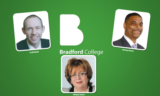Bradford College goes internal for new chief after Bravo move blow