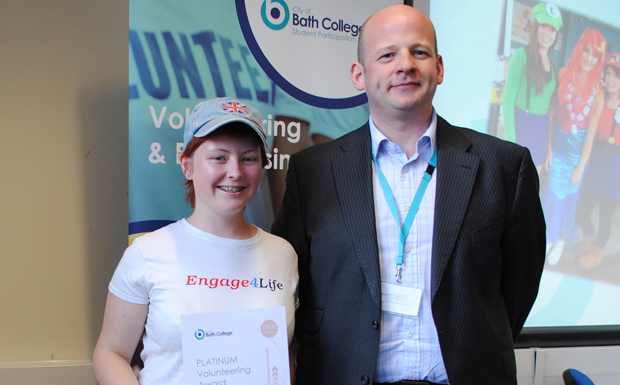 Bethany recognised for work with youth centre