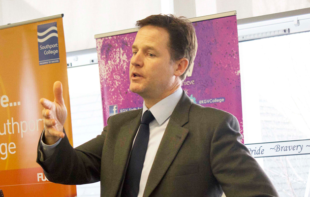 Apprenticeships and careers advice key to Lib Dem youth unemployment plans, Clegg to reveal