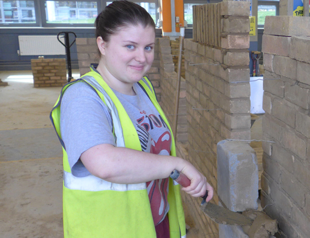 Laying firm foundations for women bricklayers