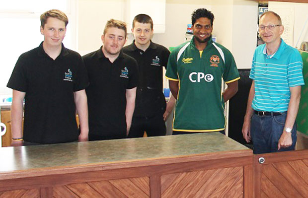 Test match Pakistani cricketer bowled over by refurbishments