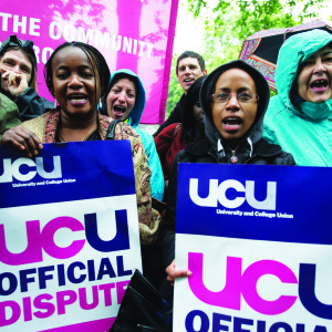 UCU announces strike and possible further action as members reject 1 per cent pay rise