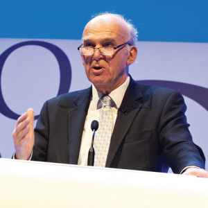 "Vince Cable admitted he had taken a ""political hit"" on tuition fees to protect apprenticeship spending."